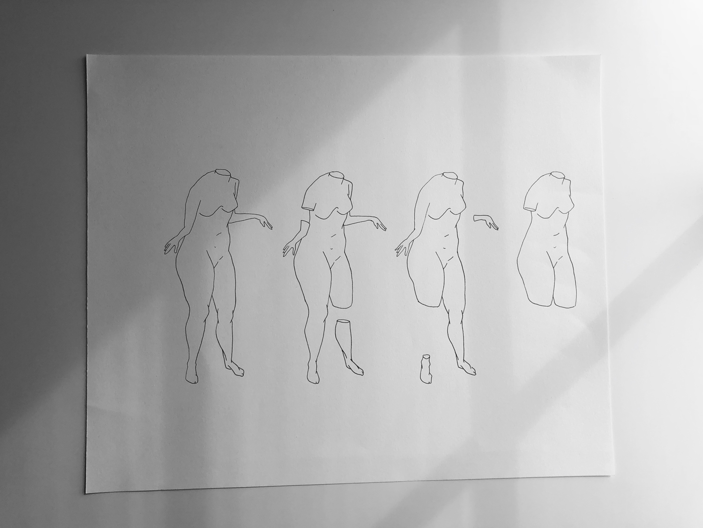 Drawing by Clifford Tran
