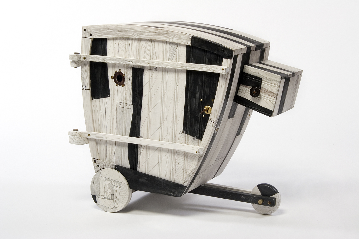 Cabinet with Sidecar, 2007