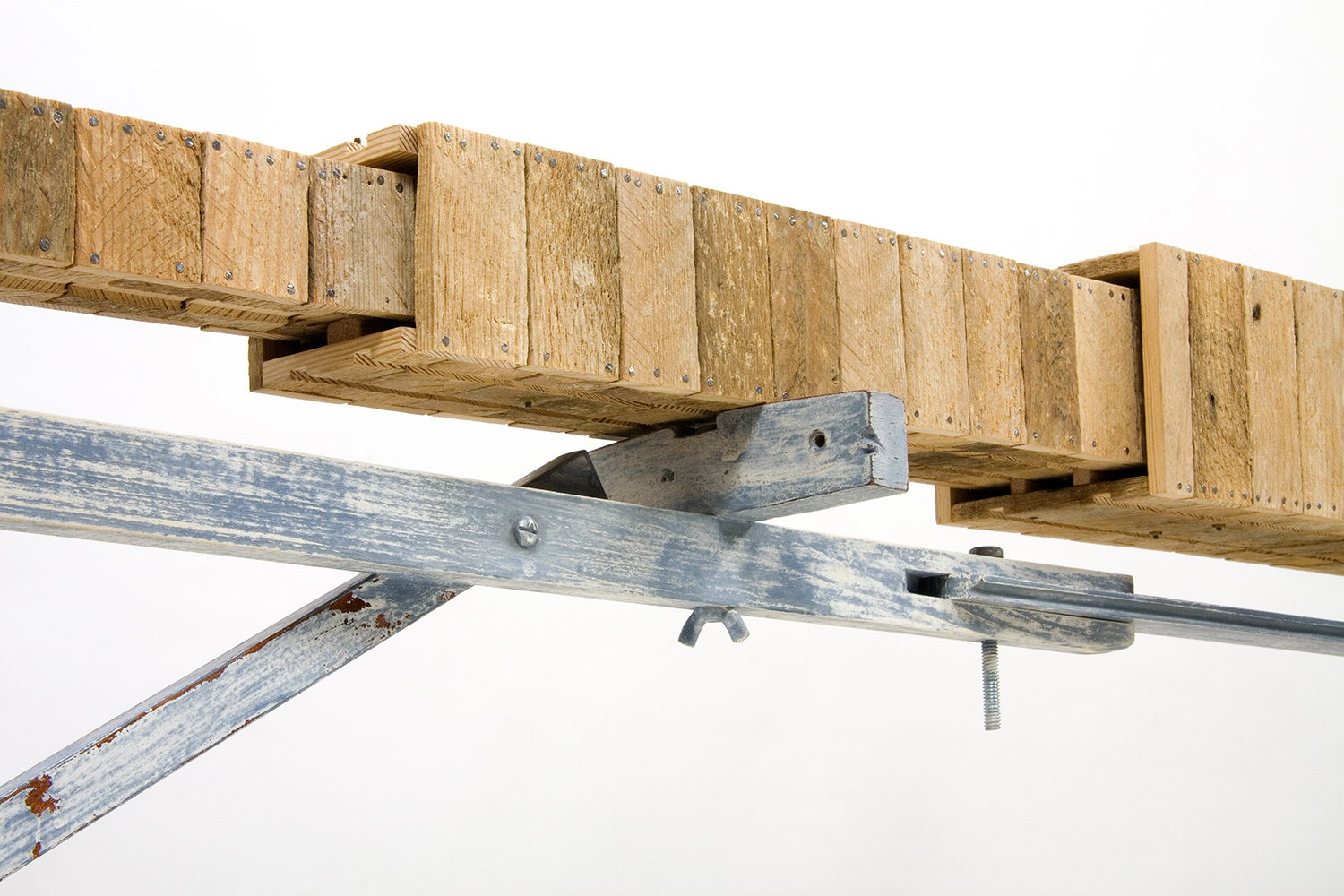 Symbiosis #1, Table With Drawer, 2009 (detail of telescoping drawer)