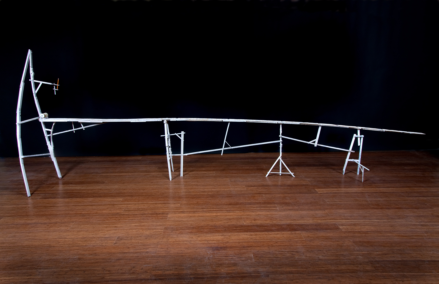 The World's Longest Drawing Table, 2008 (unfurled)