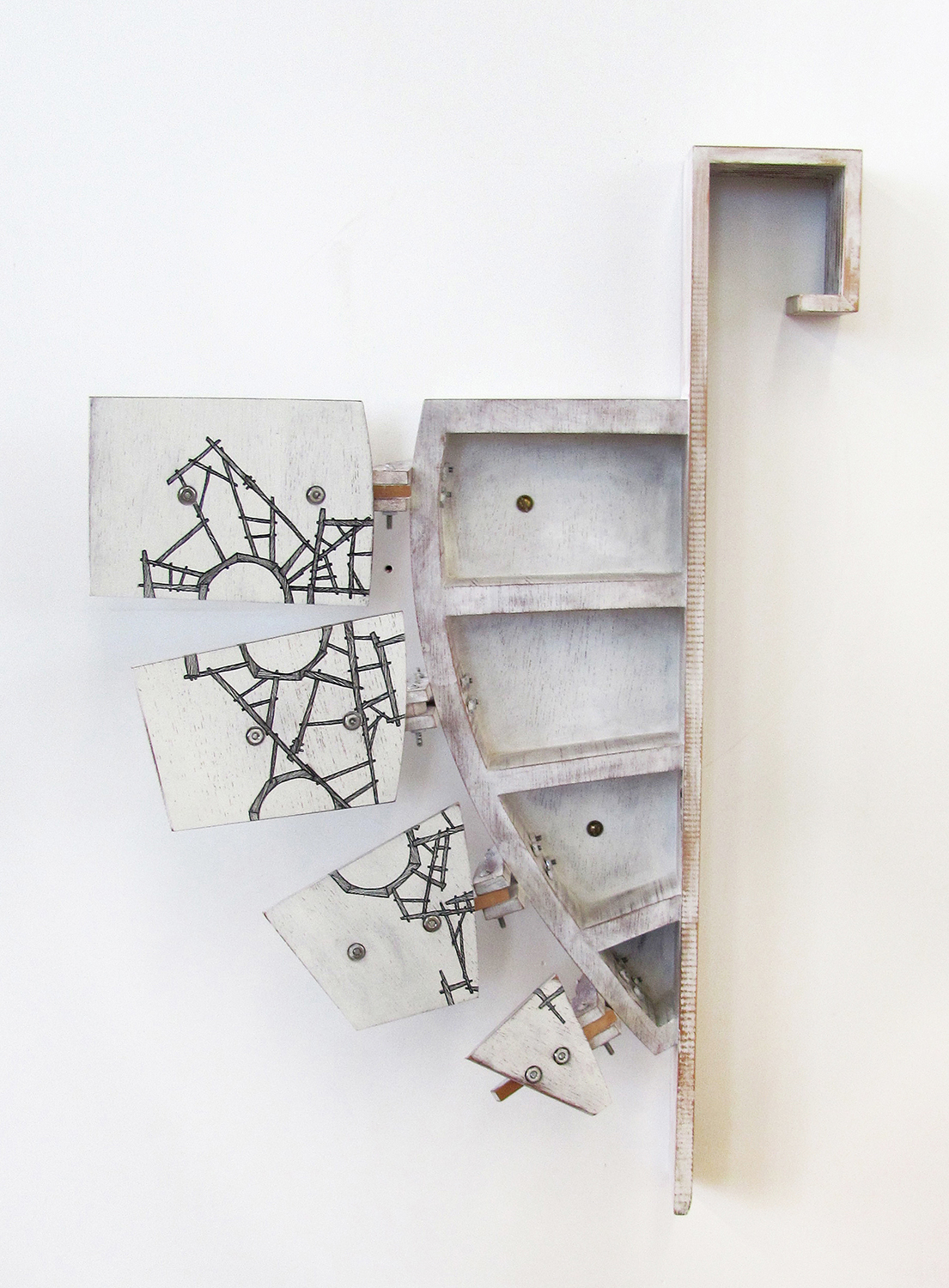Knuckle Cabinet, 2012