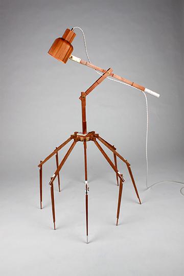Spider Leg Lamp, 2017