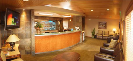 Inside Wenatchee Dental - Waiting Room - The office of Dr. Kelly, Dr. Edwards, and Dr. Webb