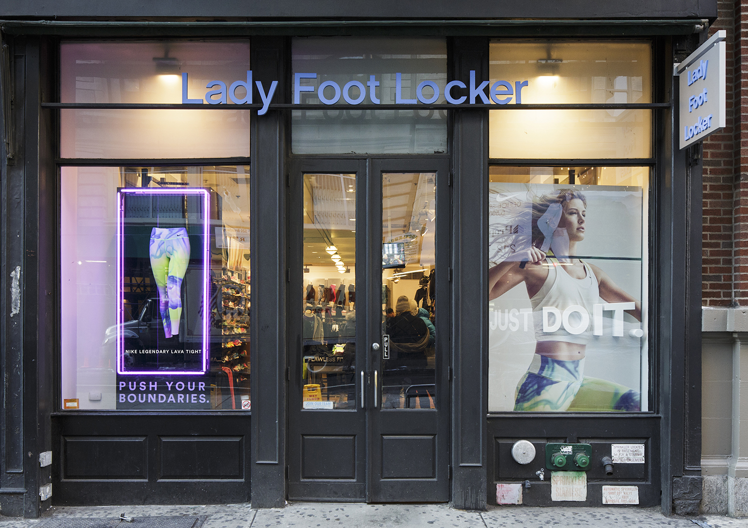 Lady Foot Locker - Soho NYC