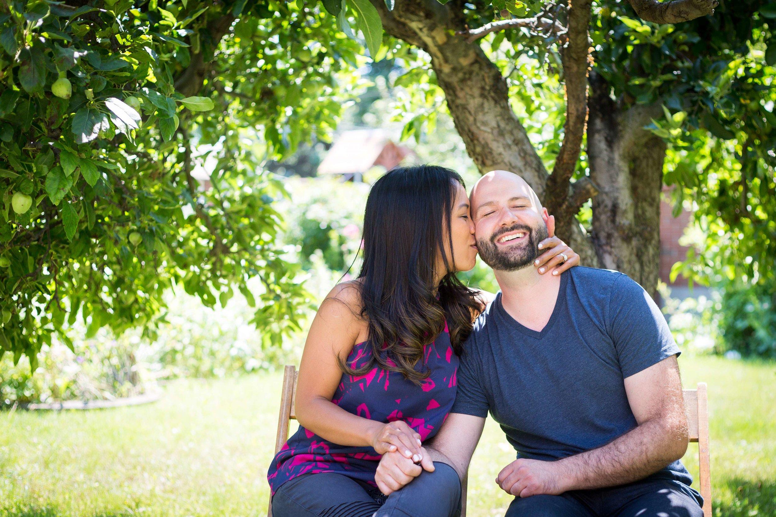 Niagara Engagement Portrait Couple