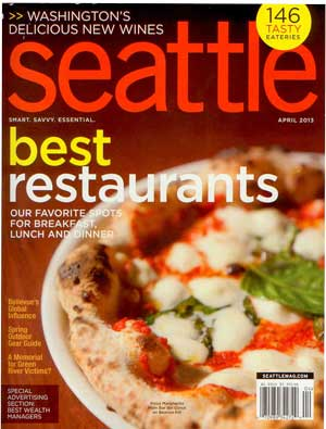 Seattle Magazine April 2013