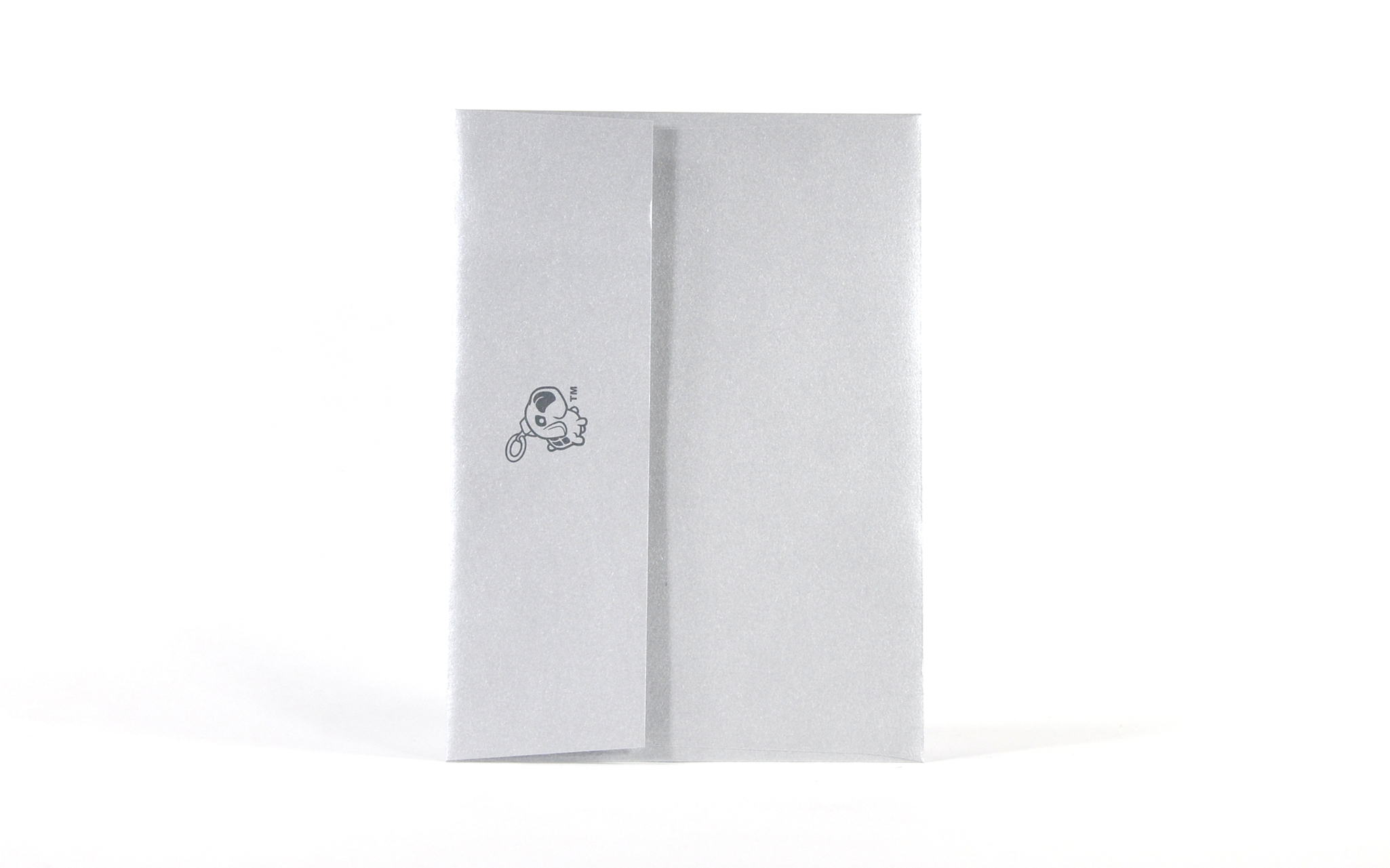 Xmaszilla  By Jacob Elijah (Silver-Matte-Metallic Envelope)