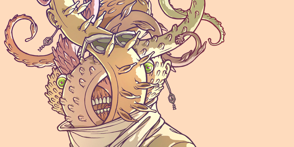 True Face (detail)by Oh! Oozi