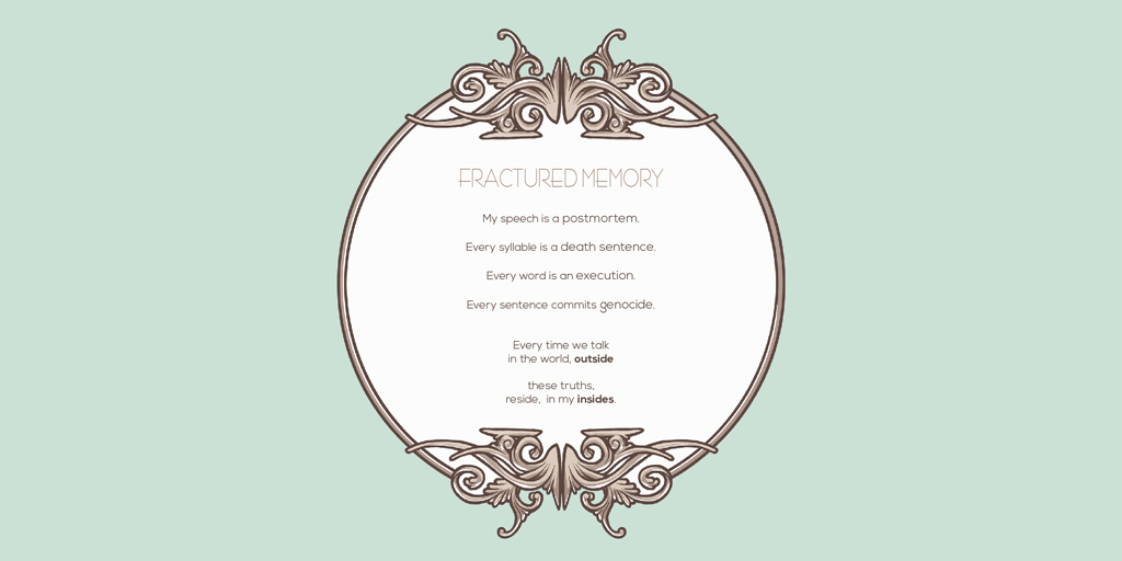 Fractured Memory (poem) by Oh! Oozi