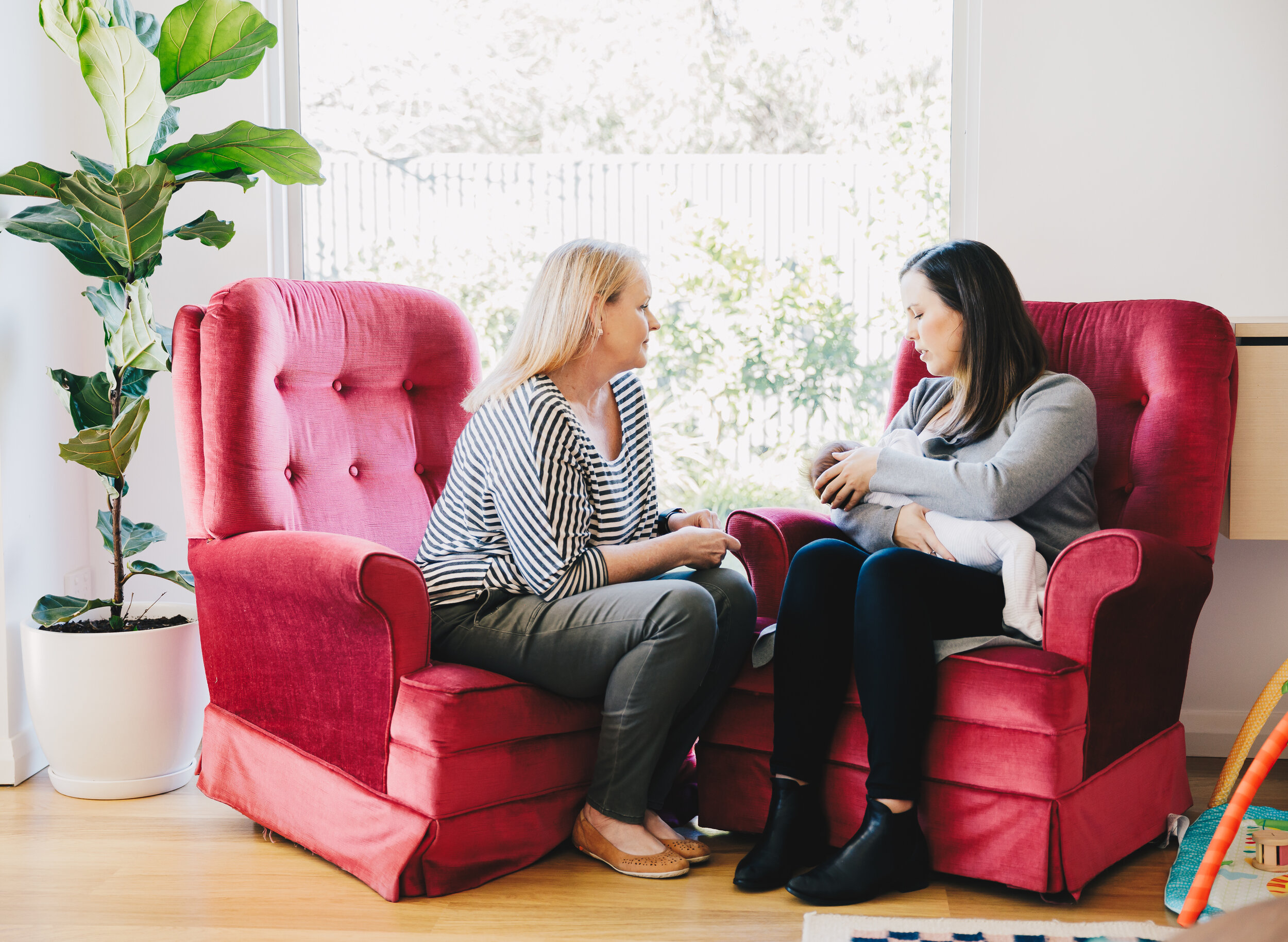 FOLLOW UP HOME CONSULTATION - (Previous clients ONLY)Comprehensive return home visits are often required and are offered at a reduced rate. These visits include revision of our original care plan, referral to other health care professionals as required, written report to your GP/paediatrician (if required), phone/text/email follow up for the 2 days following appointment. If you feel you have concerns that cannot be addressed within 45 mins please book additional time.Weekend/public holiday or travel fee may apply.45 minutes • $AUD100.00BOOK NOW