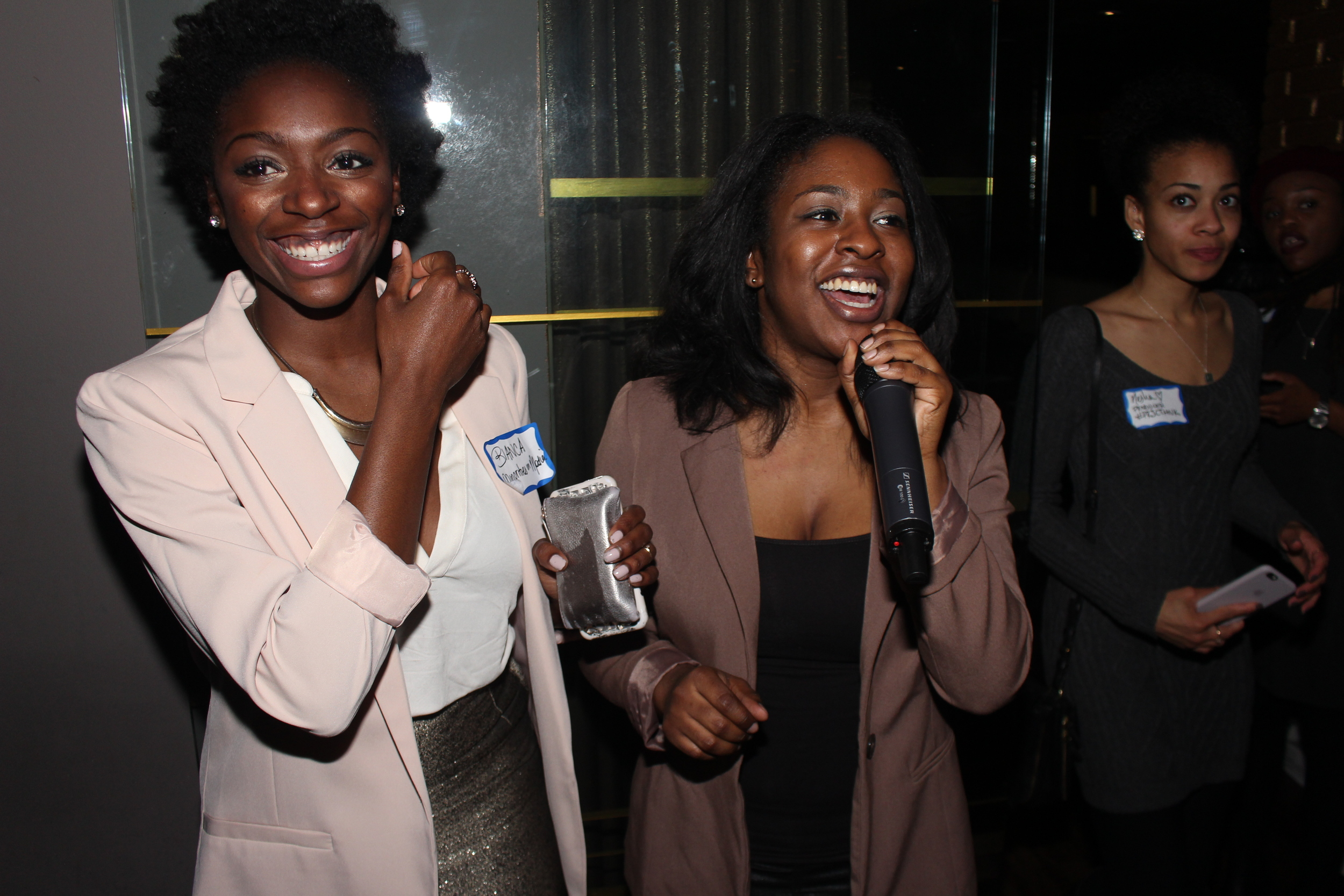 BIanca Jeanty and Netta Dobbins of MiMConnect