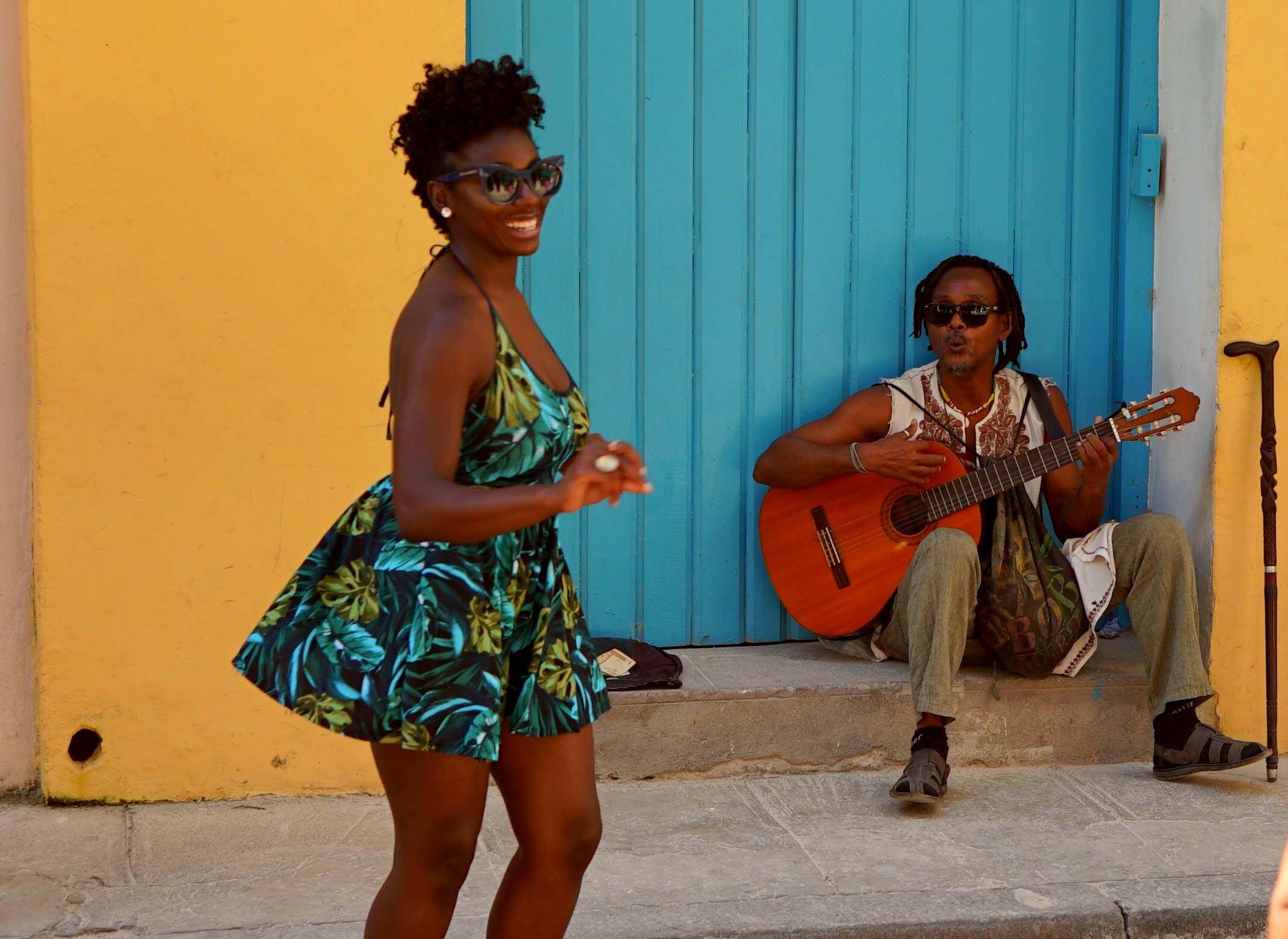 Bianca Jeanty Hits CUba - Dancing in Old Havana.jpg