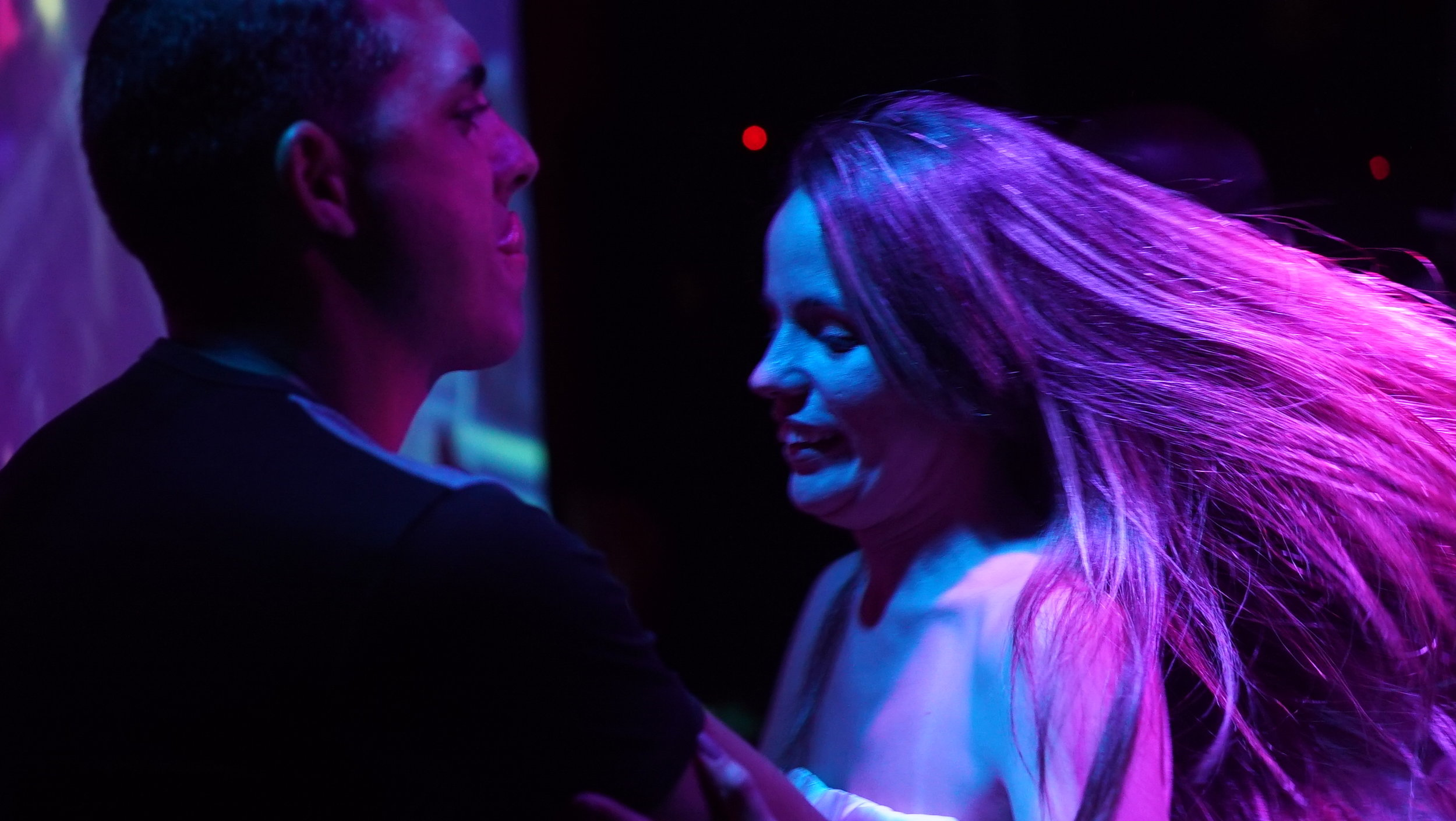 Bianca Hits Cuba - Dancing at King Bar.JPG