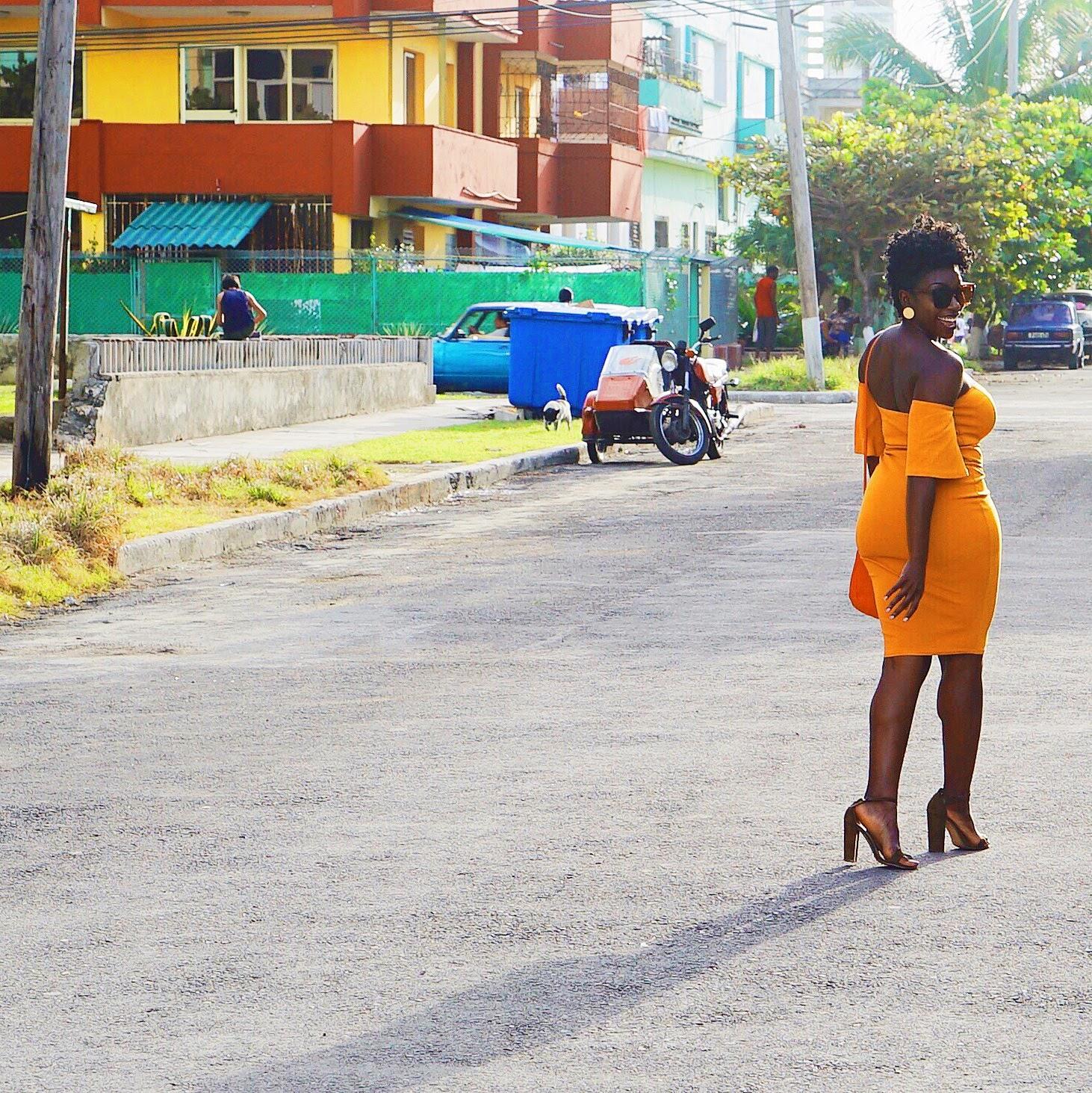 black-girl-magic-yellow-dress-havana-cuba