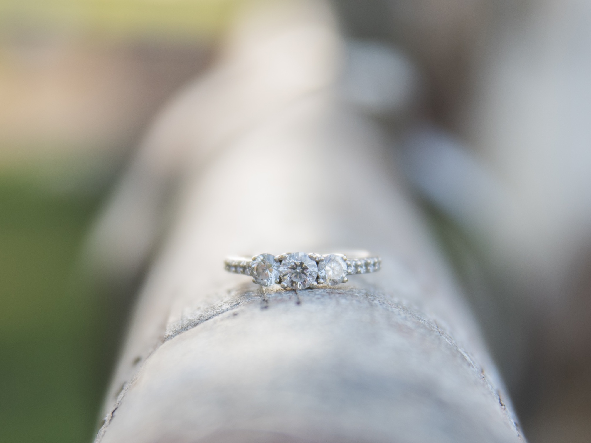 How beautiful is Kayla's engagement ring!?