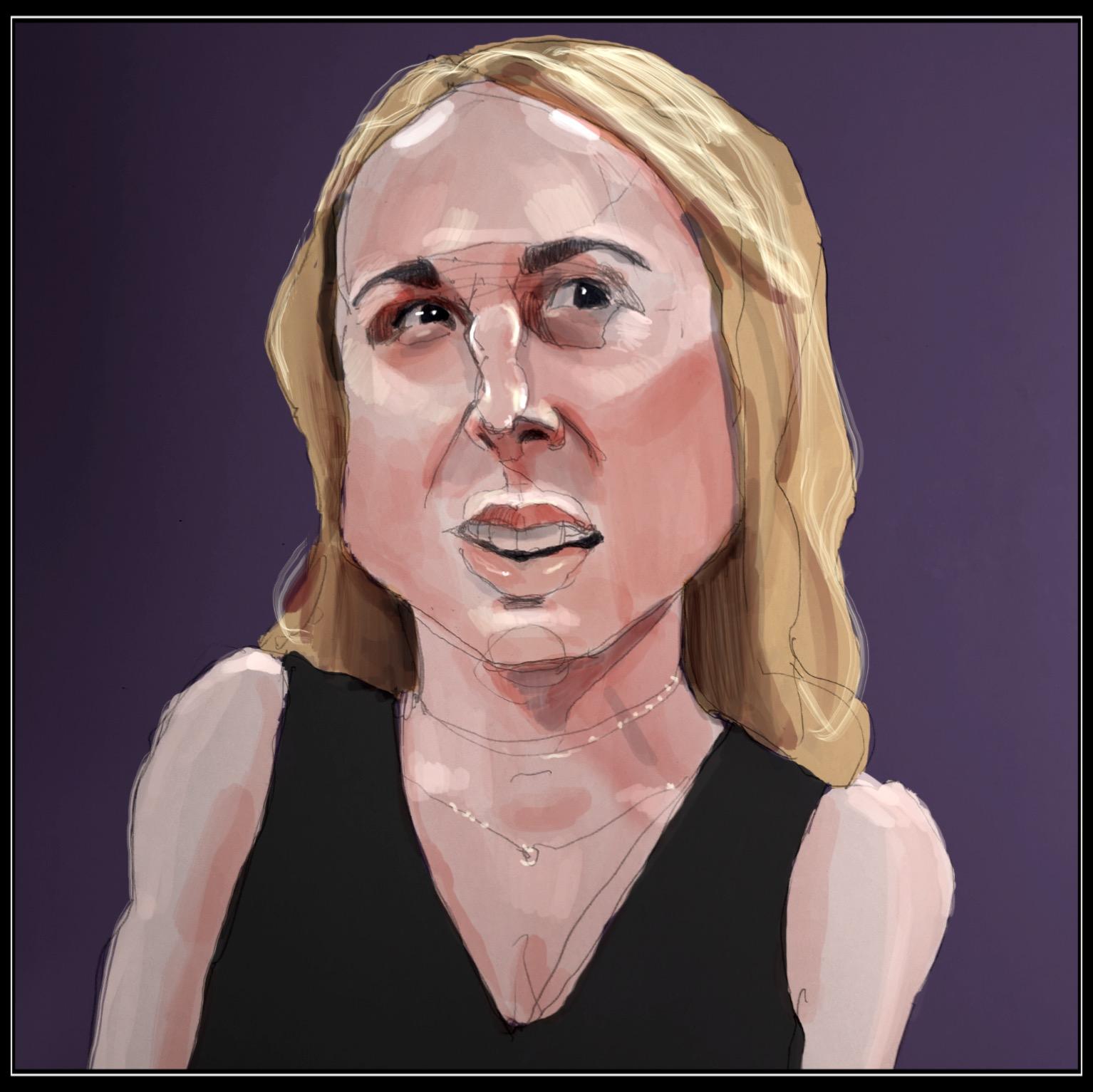 Nikki Glaser; comedian and podcaster