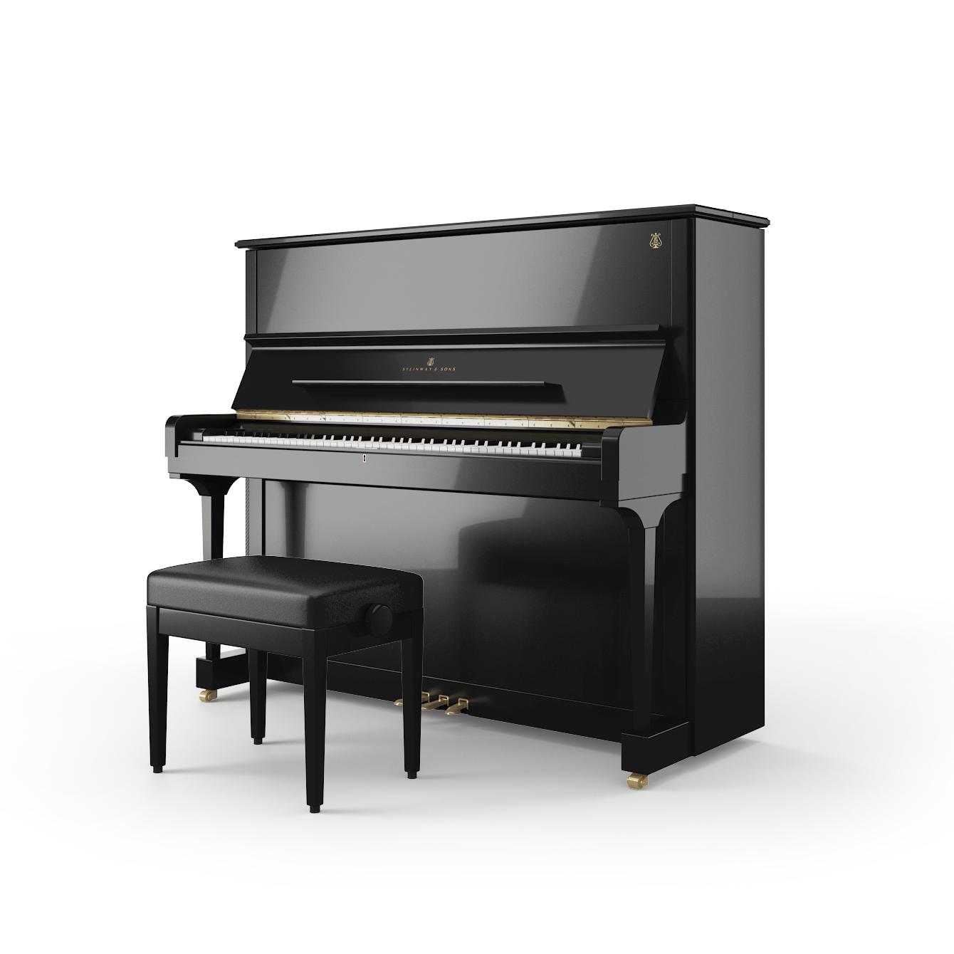 Steinway Upright Piano K132