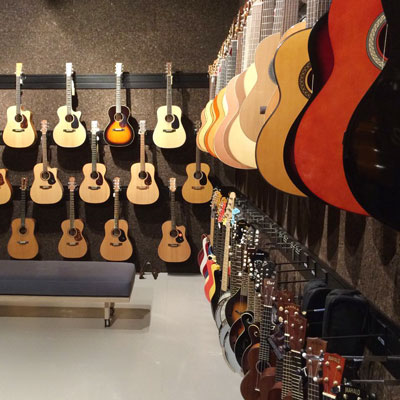 New guitar room