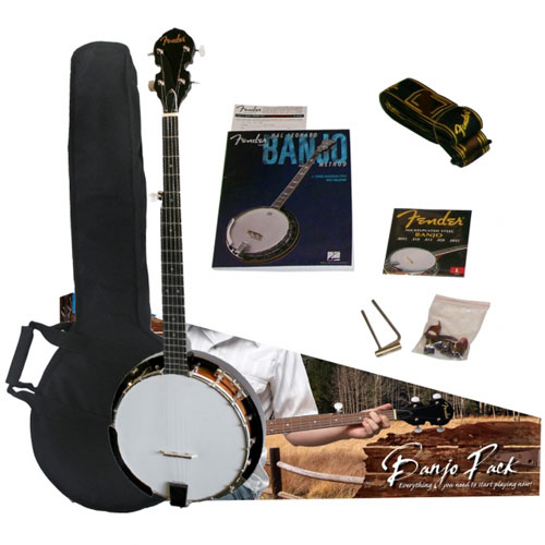 Fender FB300 Banjo Pack