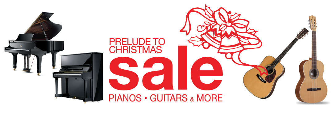 Prelude to Christmas Musical Instrument Sale