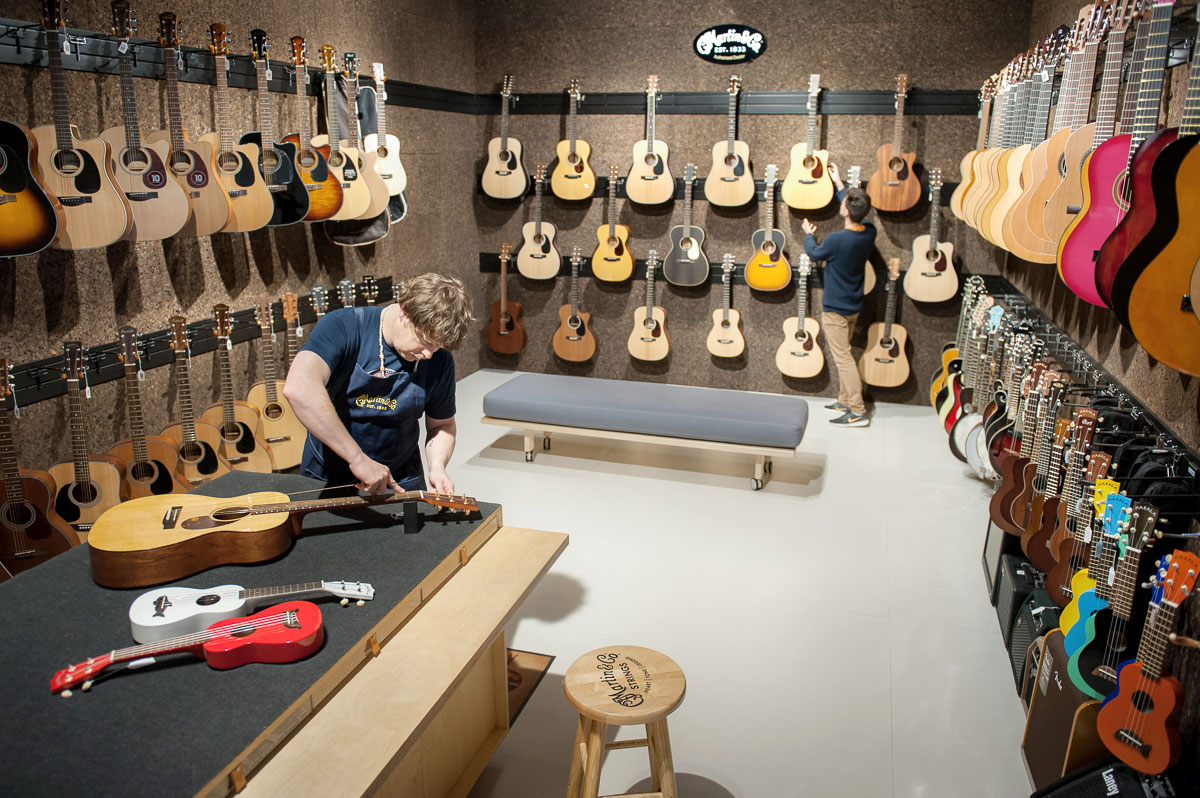 Lewis Eady Guitar Department