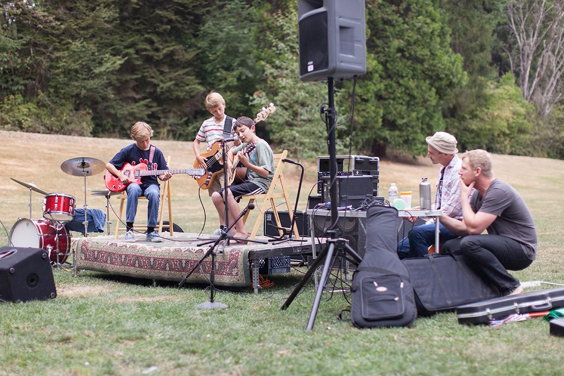 2012 Guitarbeque recital, Camp Long