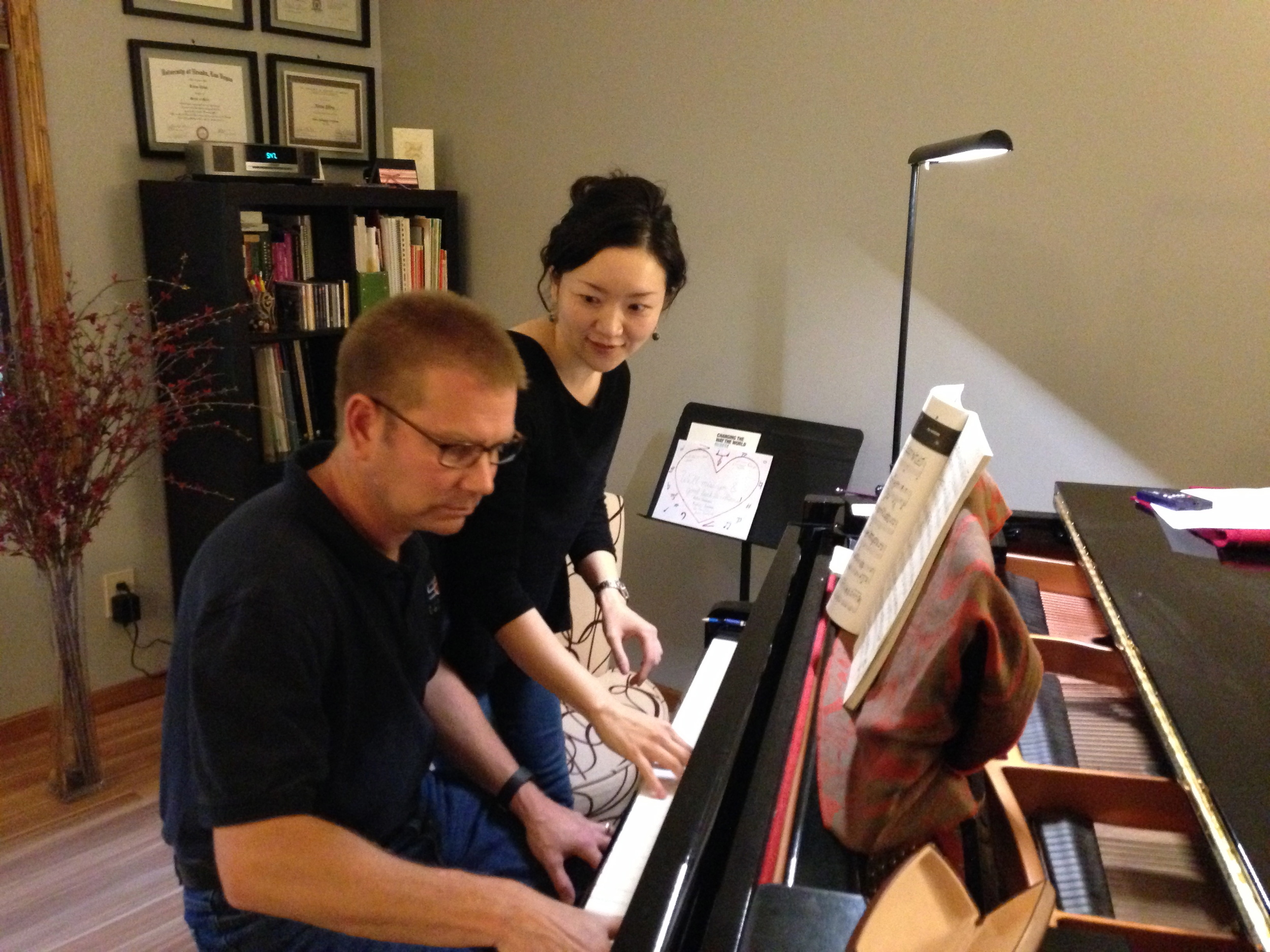 piano lessons for adults in bloomington normal illinois