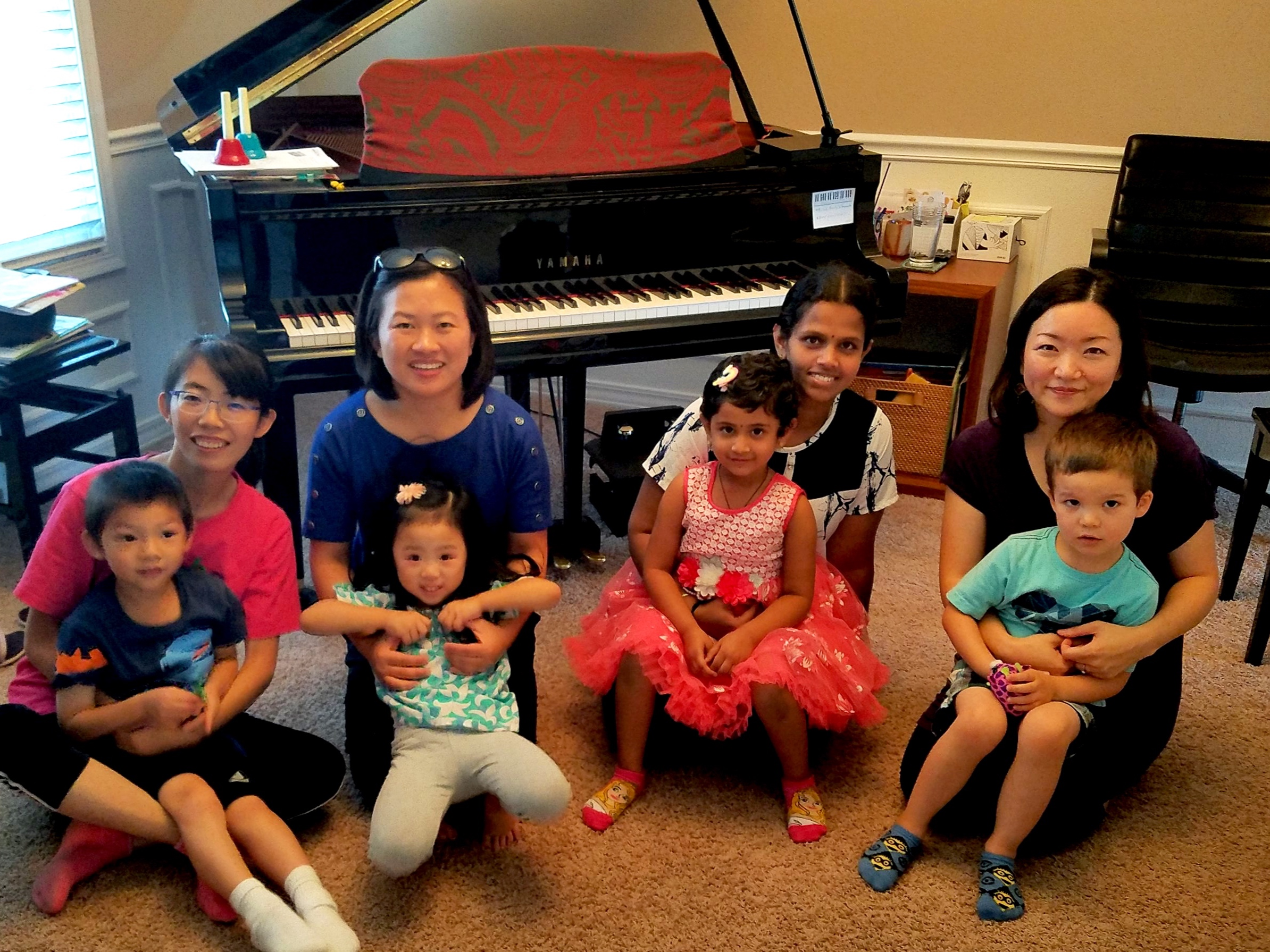 - Join us!Piano for Toddler & Me