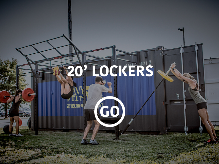 20' Lockers Small Box