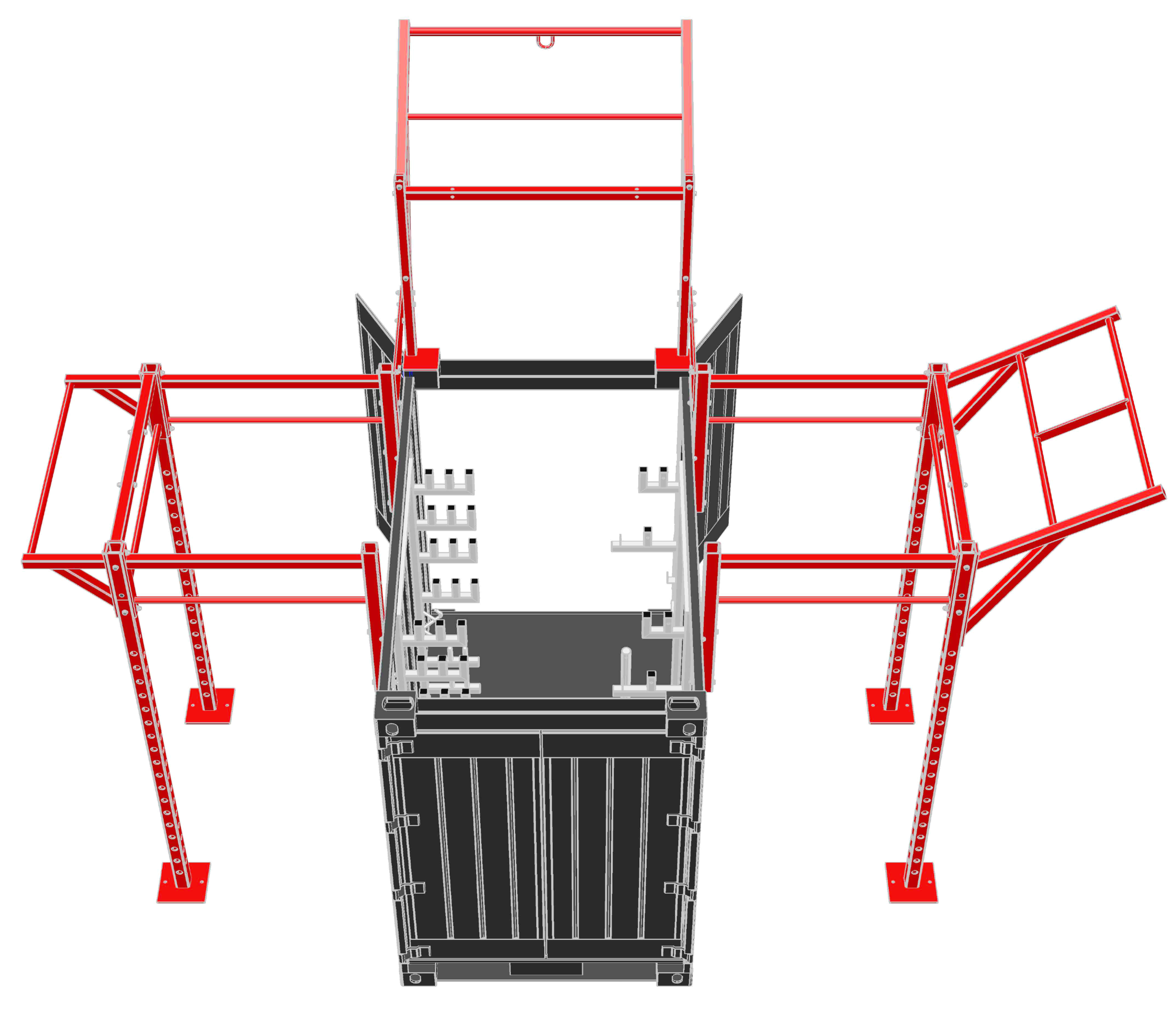 5' Deployable Locker Diagram