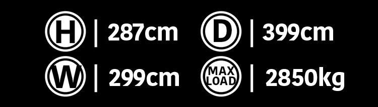 10' Sports Locker Dimensions