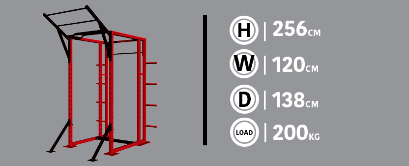 Beast Rack Example and Dimensions