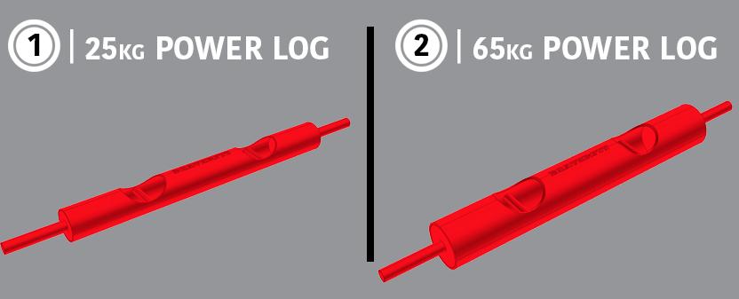 Power Logs Diagram & Dimensions