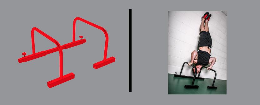 Parallettes Diagram & Example