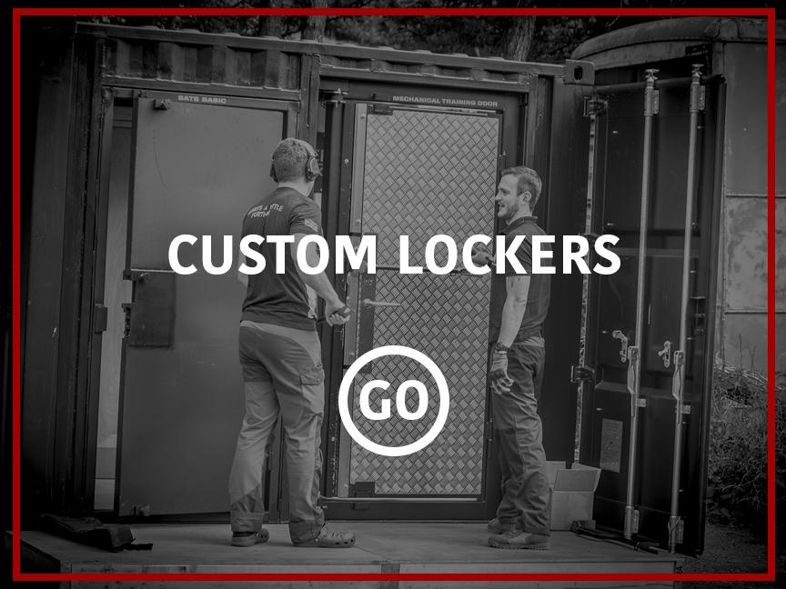 Custom Lockers Small Box
