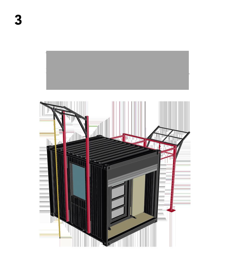 3.) Advanced Breaching- 1. Customize Container 2. Add Breaching Doors & Breaching Windows