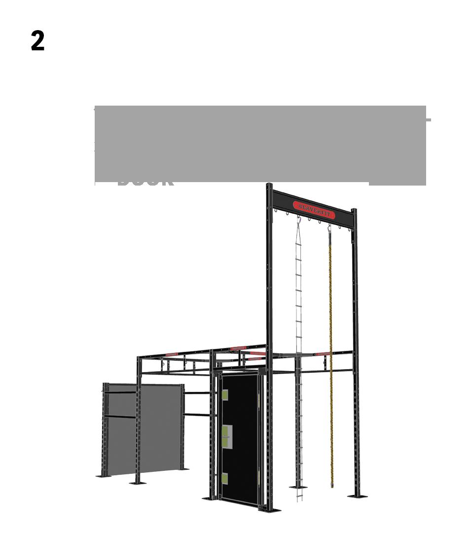 2.) Smaller Circuits- 1. Add Shorter Climbing Wall, 2. Add BATS Pro Breaching Door