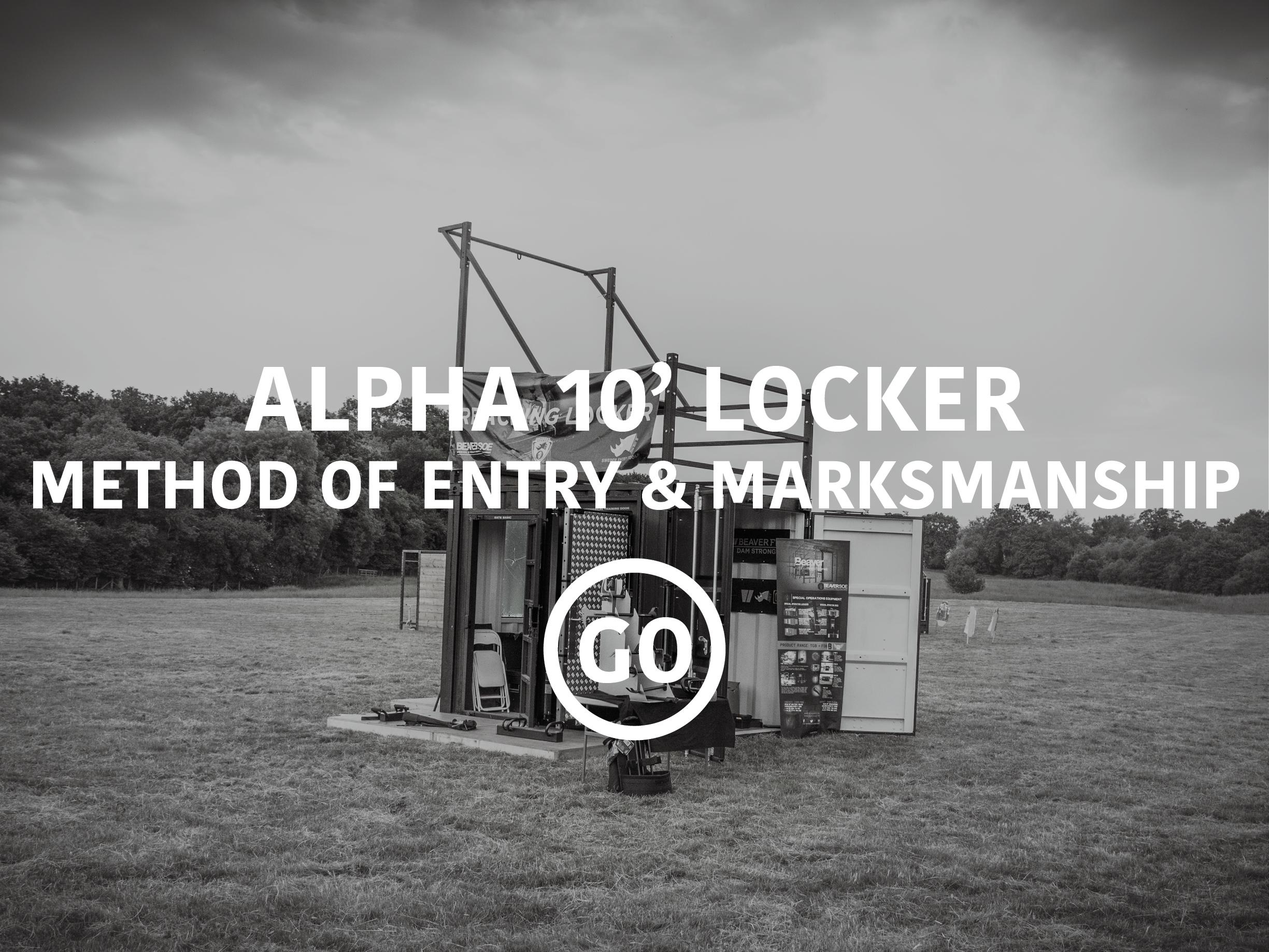 Alpha 10'Locker Breaching & Shooting Small Box