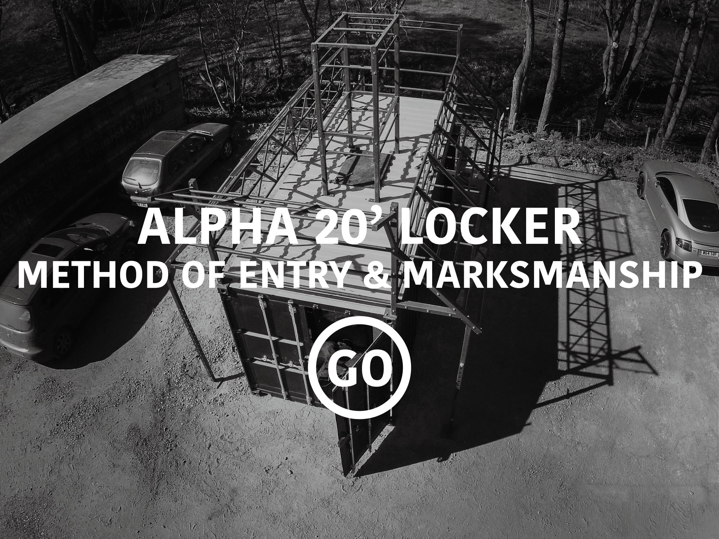 Alpha 20' Locker Breaching & Shooting Small Box