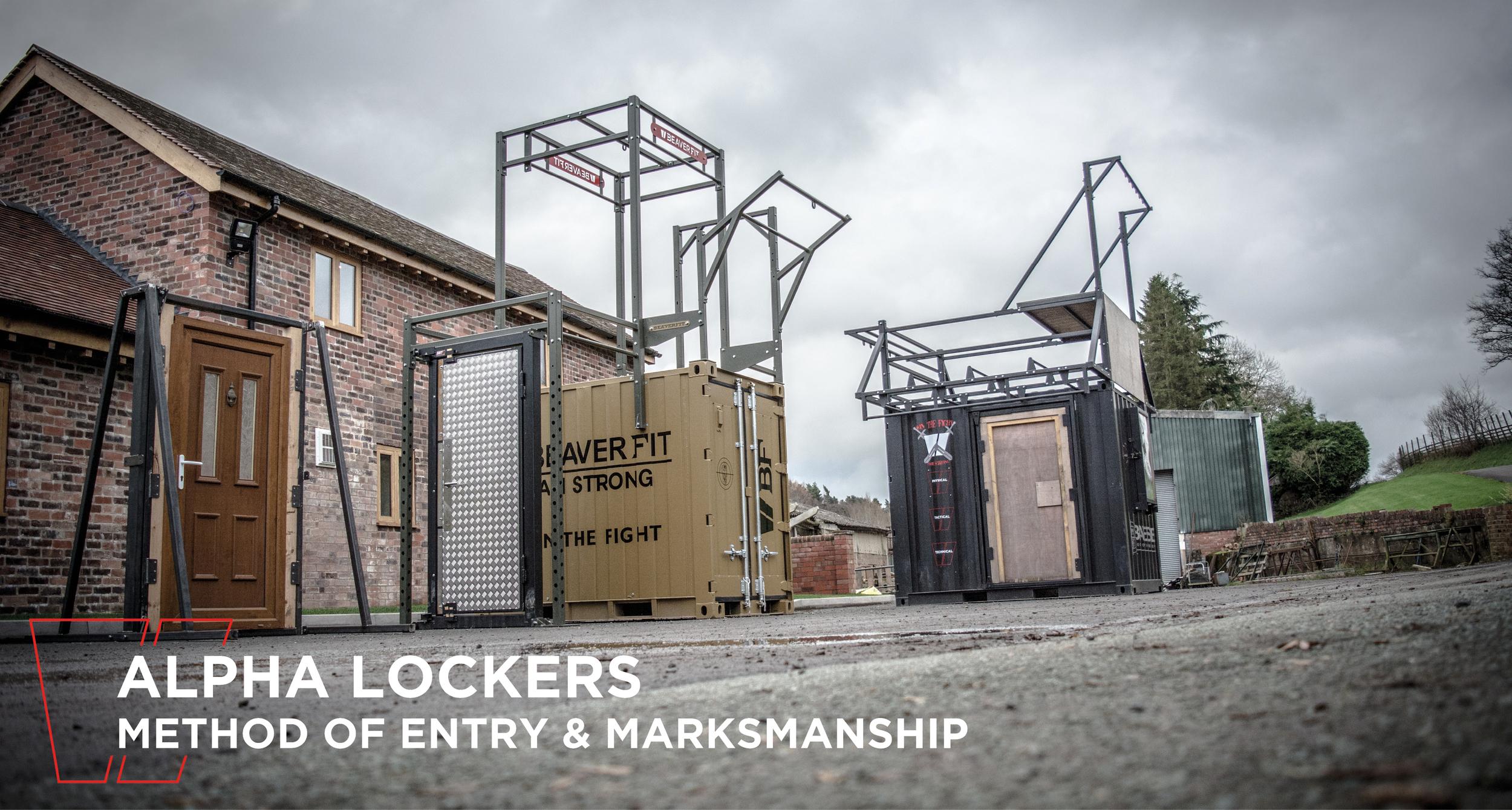 Alpha Lockers: Breaching & Shooting Main Header
