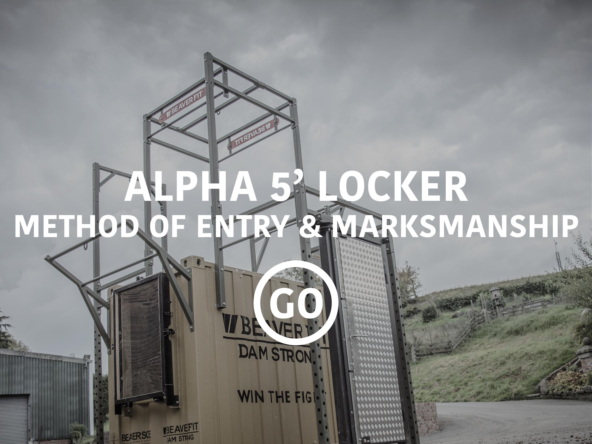 Alpha 5' Locker Breaching & Shooting Small Box