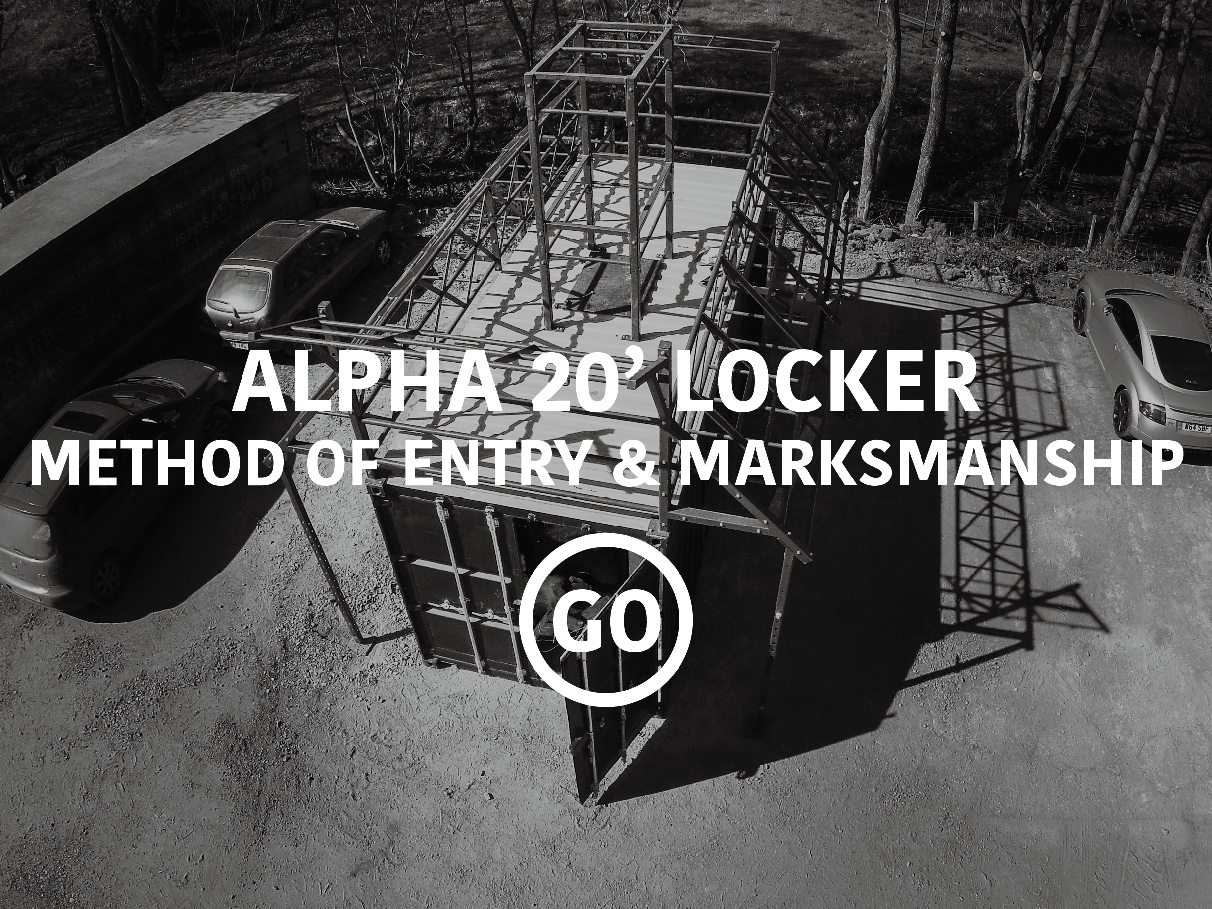 Alpha 20' Lockers Breaching & Shooting Small Box