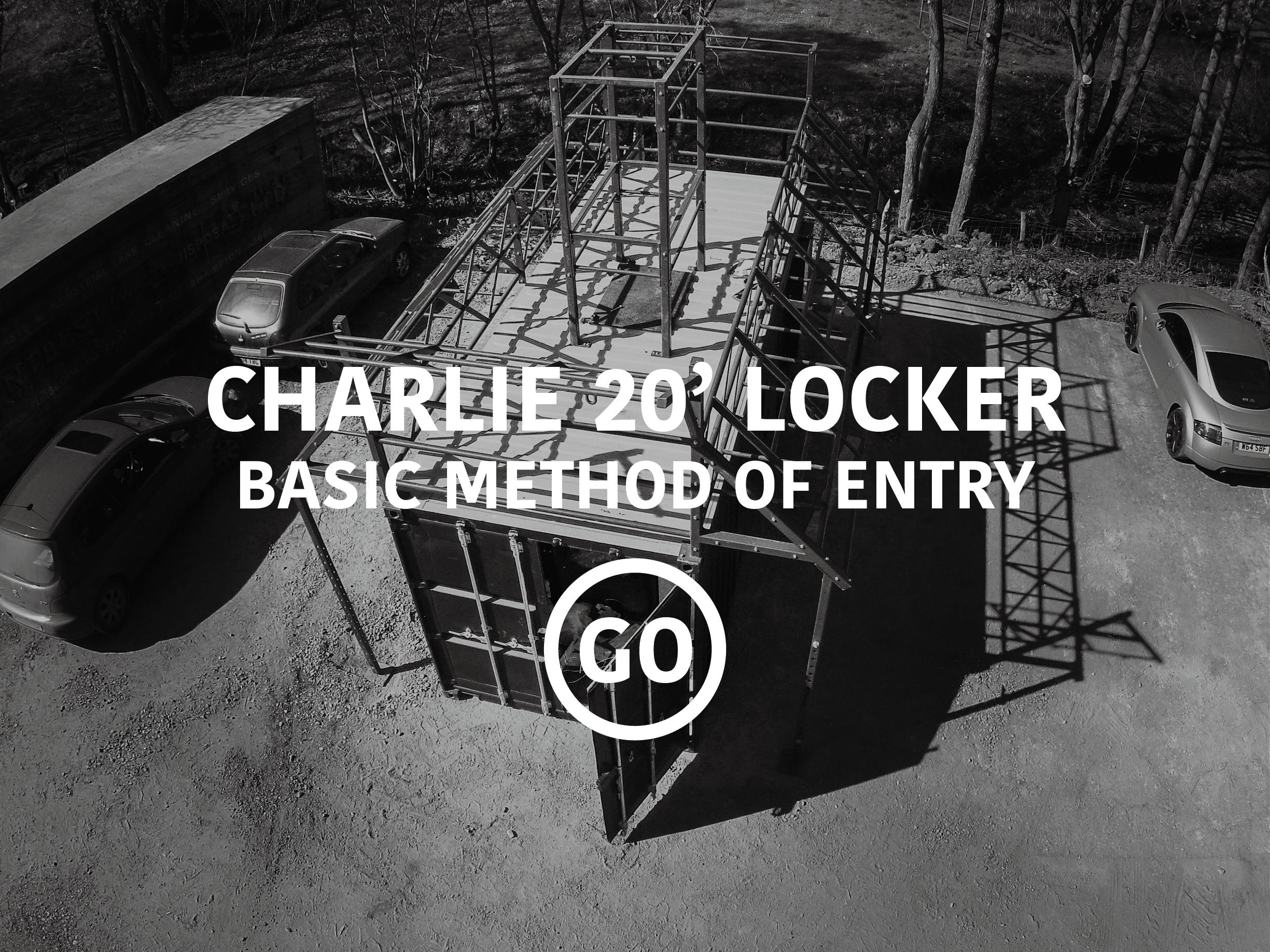 Charlie 20' Locker Basic Breaching Small Box