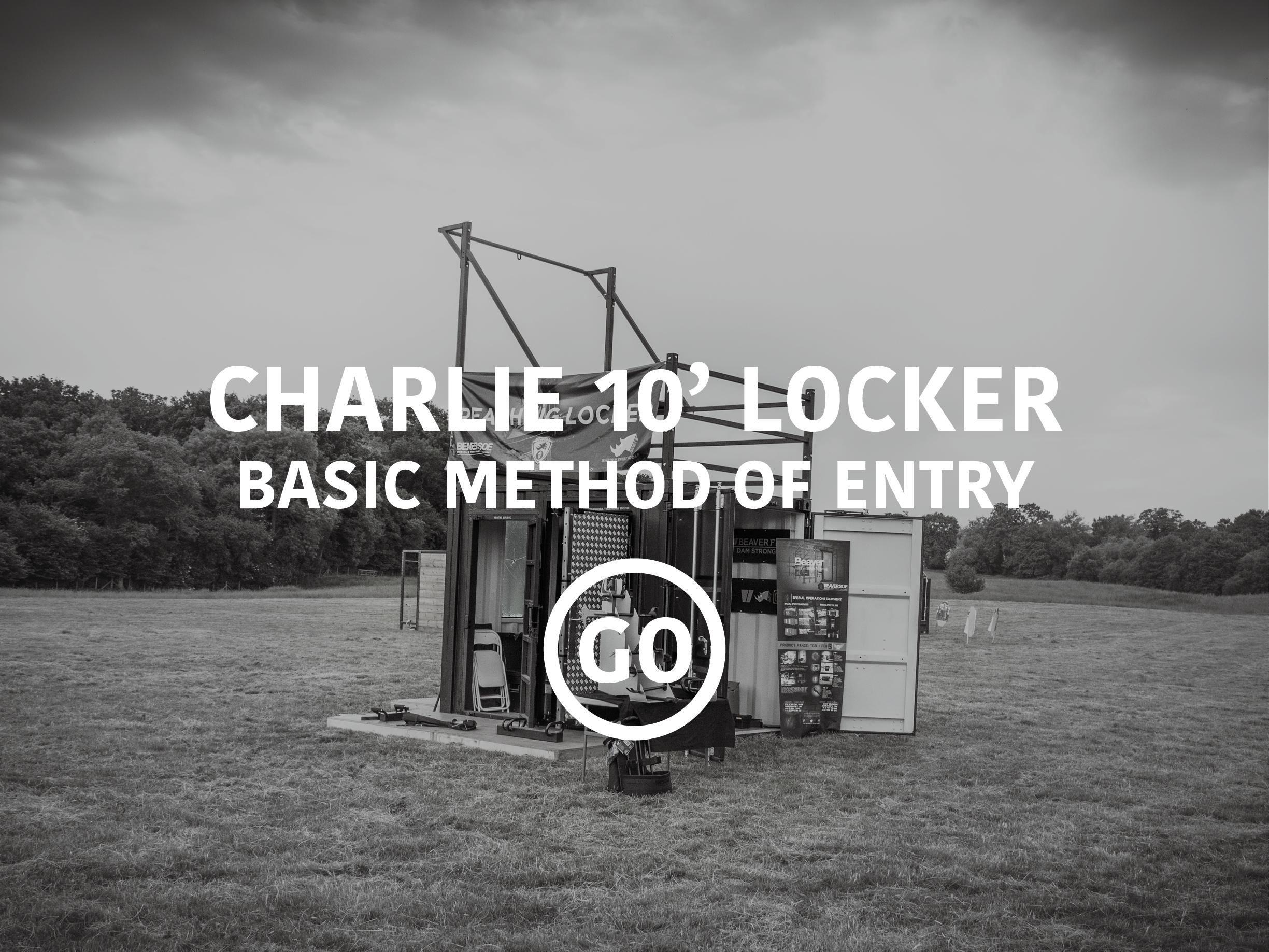 Charlie 10'Locker Basic Breaching Small Box