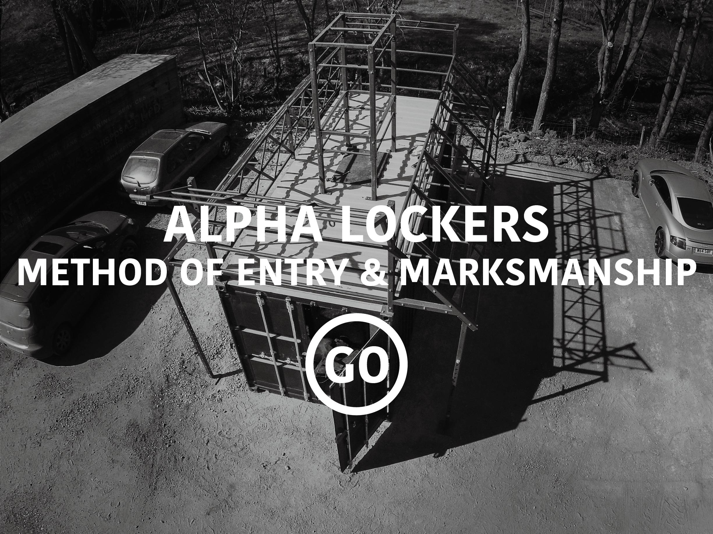 Alpha Lockers Breaching & Shooting Small Box