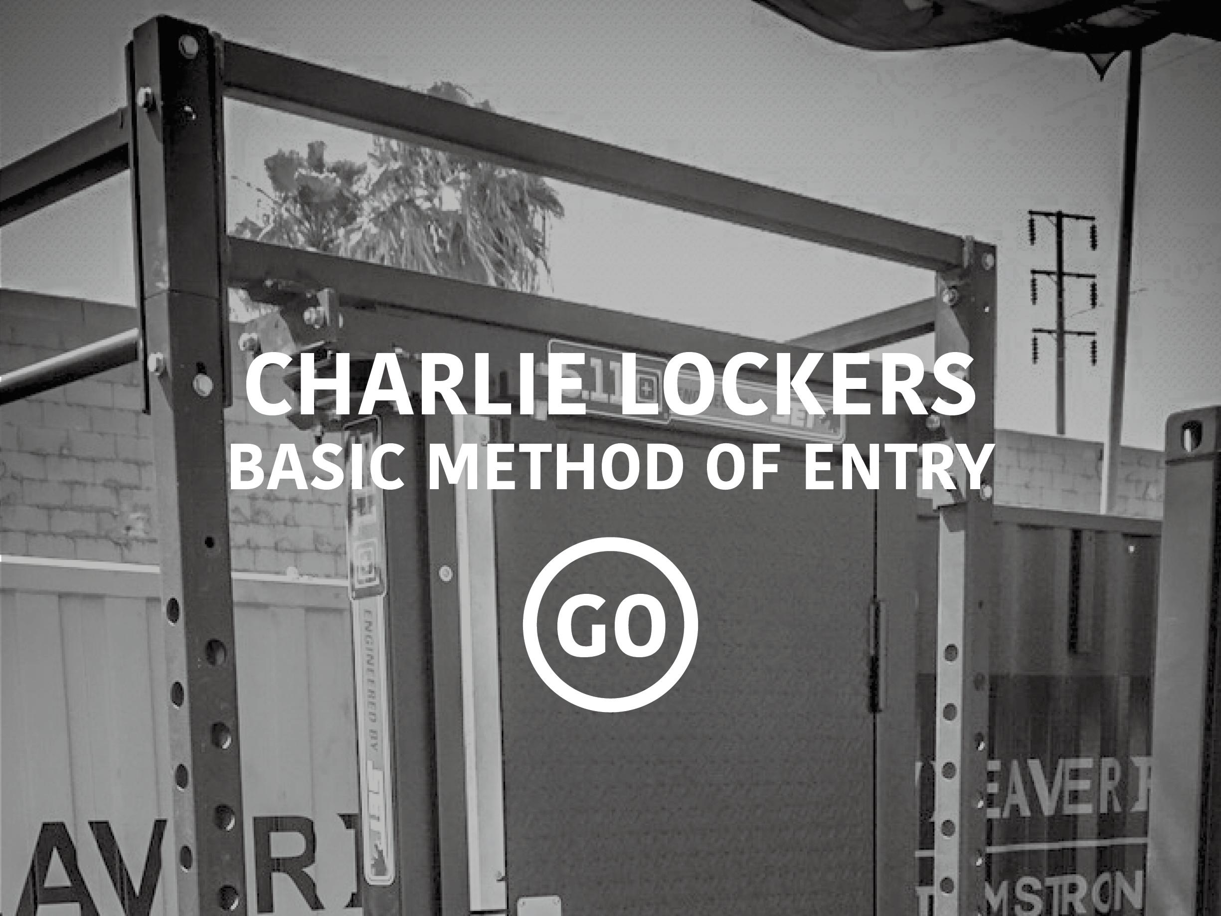Charlie Lockers Basic Breaching Small Box