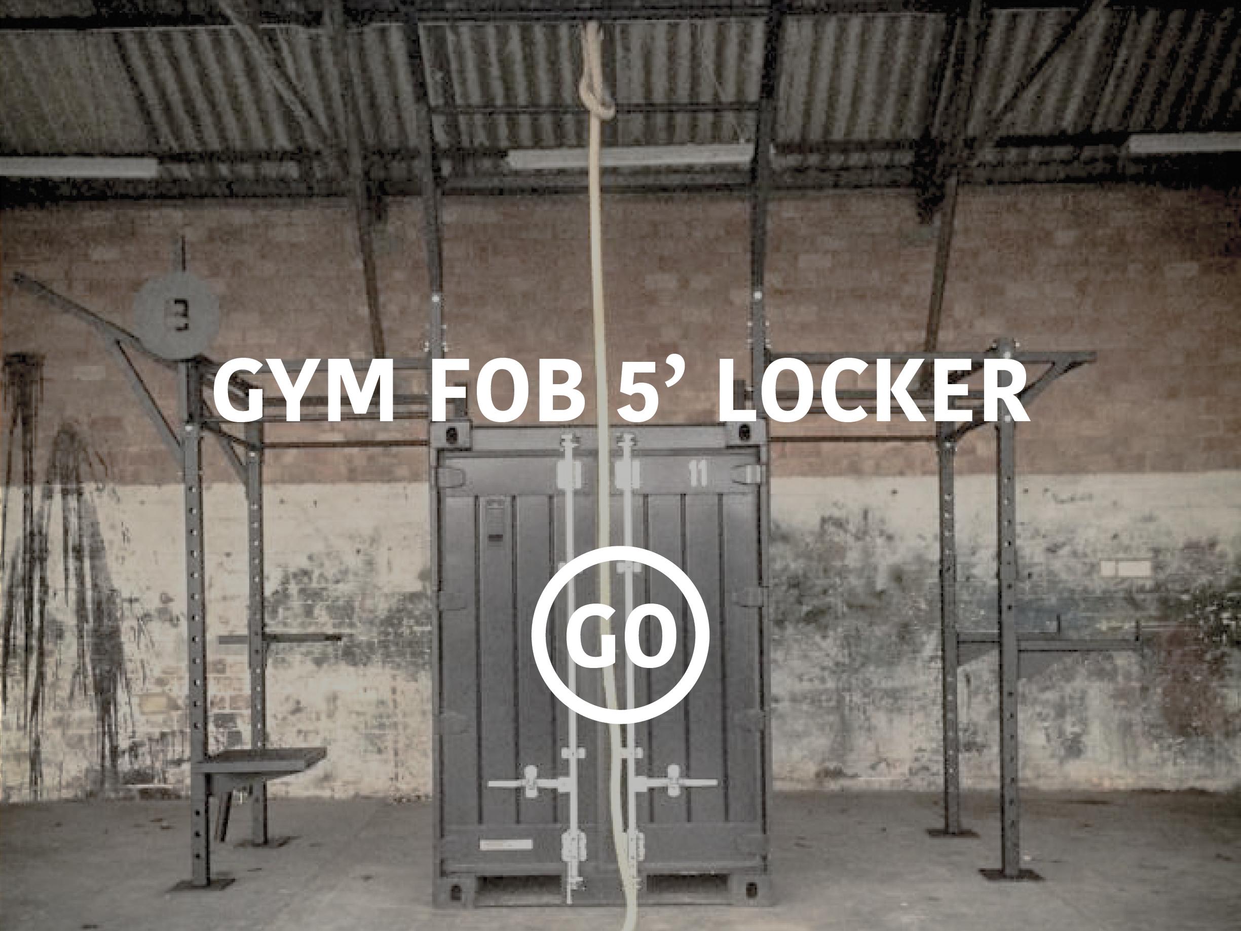 5' Sports Locker Small Box