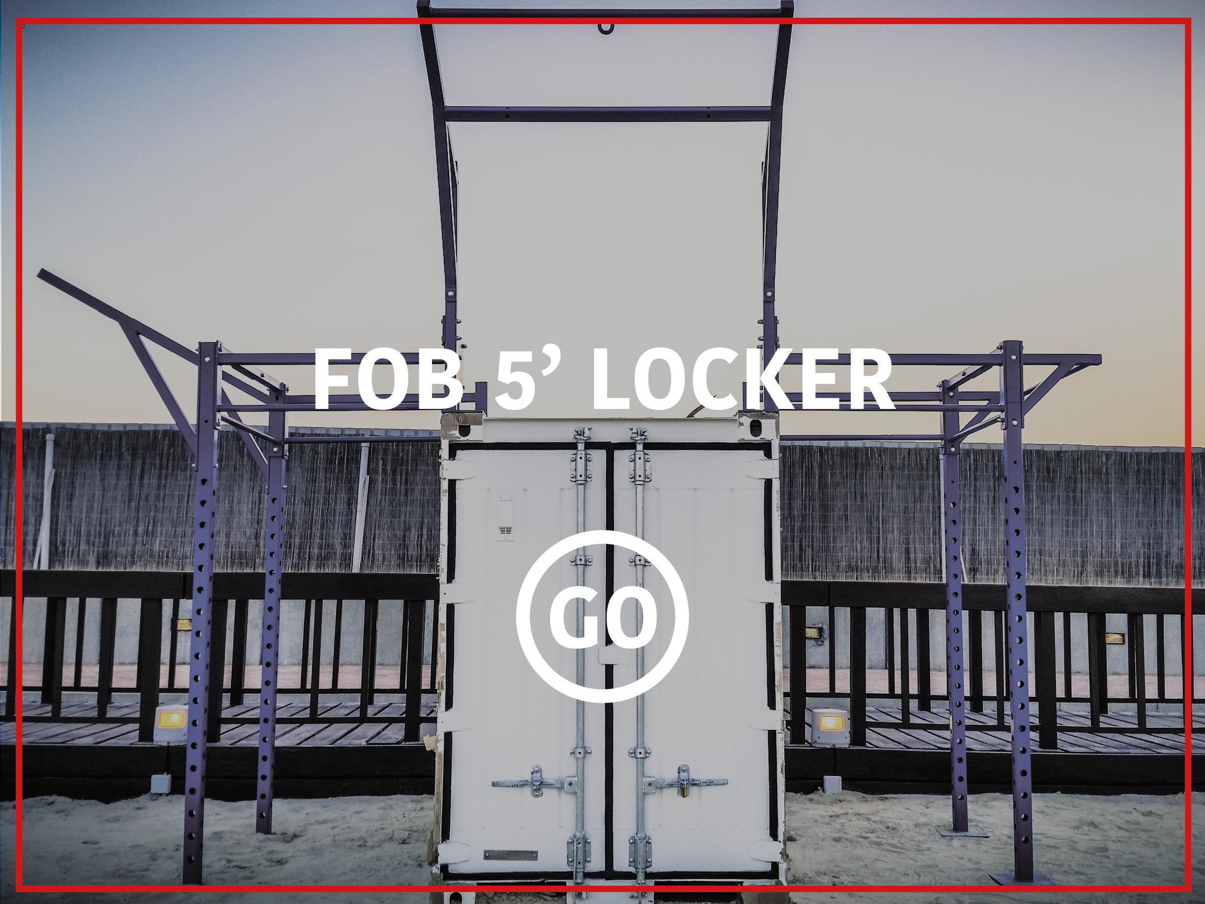5' Deployable Locker Small Box