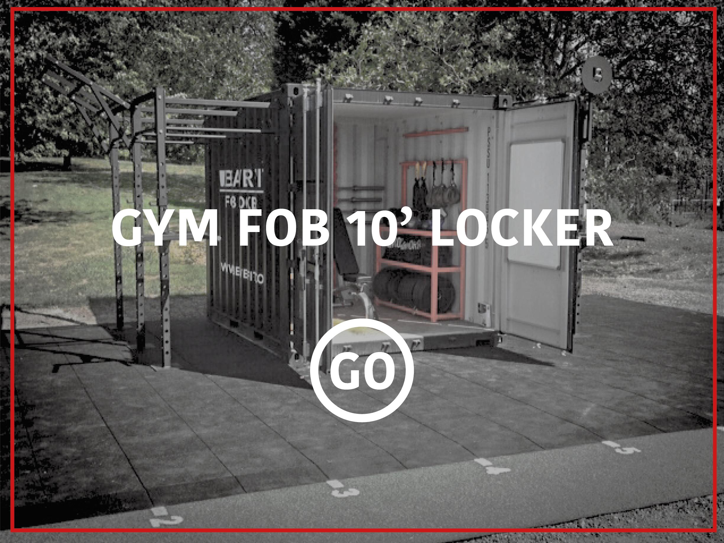 10' Sports Locker Small Box