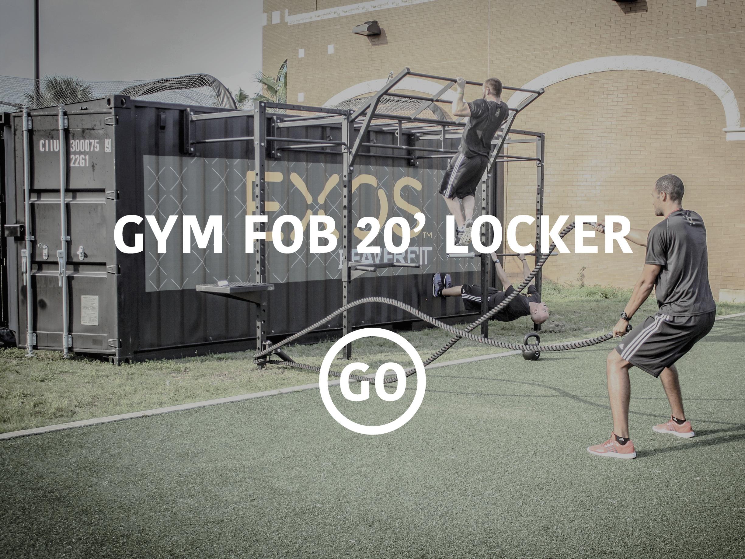 20' Sports Locker Small Box